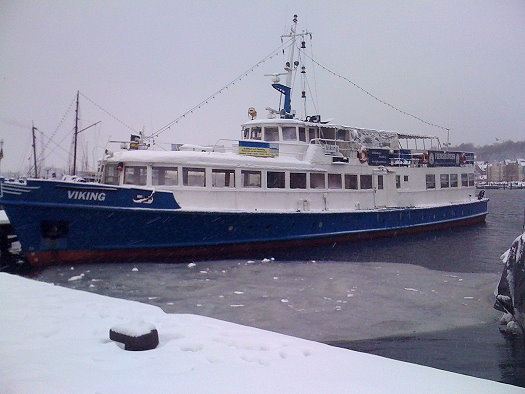 Das Ausflugschiff Viking