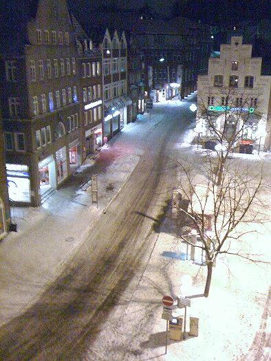 Angelburger Straße unter Schnee