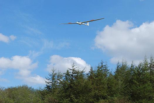 Landeklappen raus und Landung einleiten